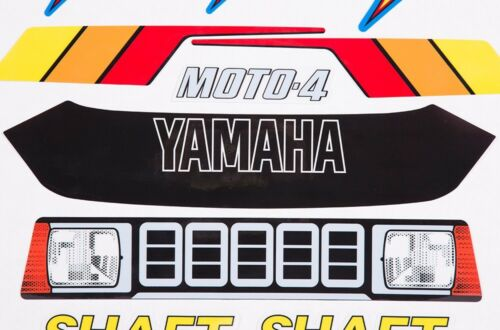 ATV Graphics Kit OEM Decals Replacement Stickers For Yamaha YF 60 4-Zinger 1986