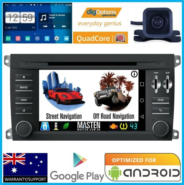 #Navi Stereo Radio Stereo For Porsche Cayenne DVD GPS + Camera HD Bluetooth