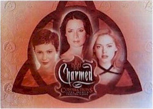Connections Charmed 2004 72 Card Basic//Base Set /& Free CC-UK Promo Card