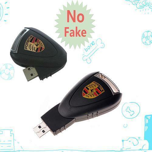 256GB Por Model Stylish Car Key USB 2.0 Flash Drive Memory Thumb Stick Pen Drive