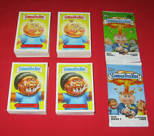 2014 GARBAGE PAIL KIDS SER. 1 & 2 COMPLETE SETS 1-132 A & B   264 TOTAL STICKERS
