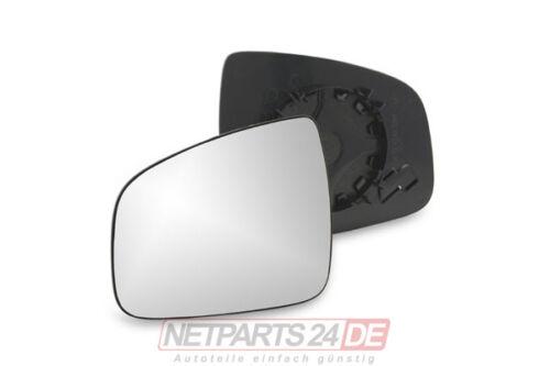 Außenspiegelglas Spiegel-Glas Seitenspiegelglas links Dacia Sandero ab 06//08
