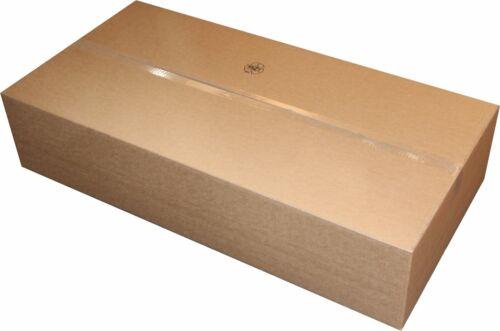 4 St Faltkarton 1200x600x250 1-wellig braun C-Welle mit Höhenrillung Versandbox