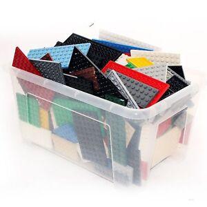 30x-Lego-Platten-Bauplatten-Konvolut-verschiedene-Farben-und-Groessen-kg-Plates
