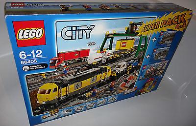 Bahnhof Eisenbahn Zug 7938 7939 NEU NEW LEGO City 7937 Train Station