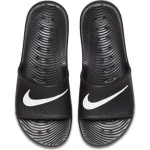 f637d23c2ce6 Nike Men s Kawa Shower Slides Sandals Beach Shoes Flip Flops 832528 ...
