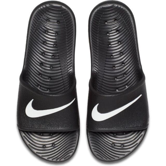 Nike Uomo Kawa Doccia Fermacapelli Sandali Mare Scarpe Infradito 832528 001 Nero