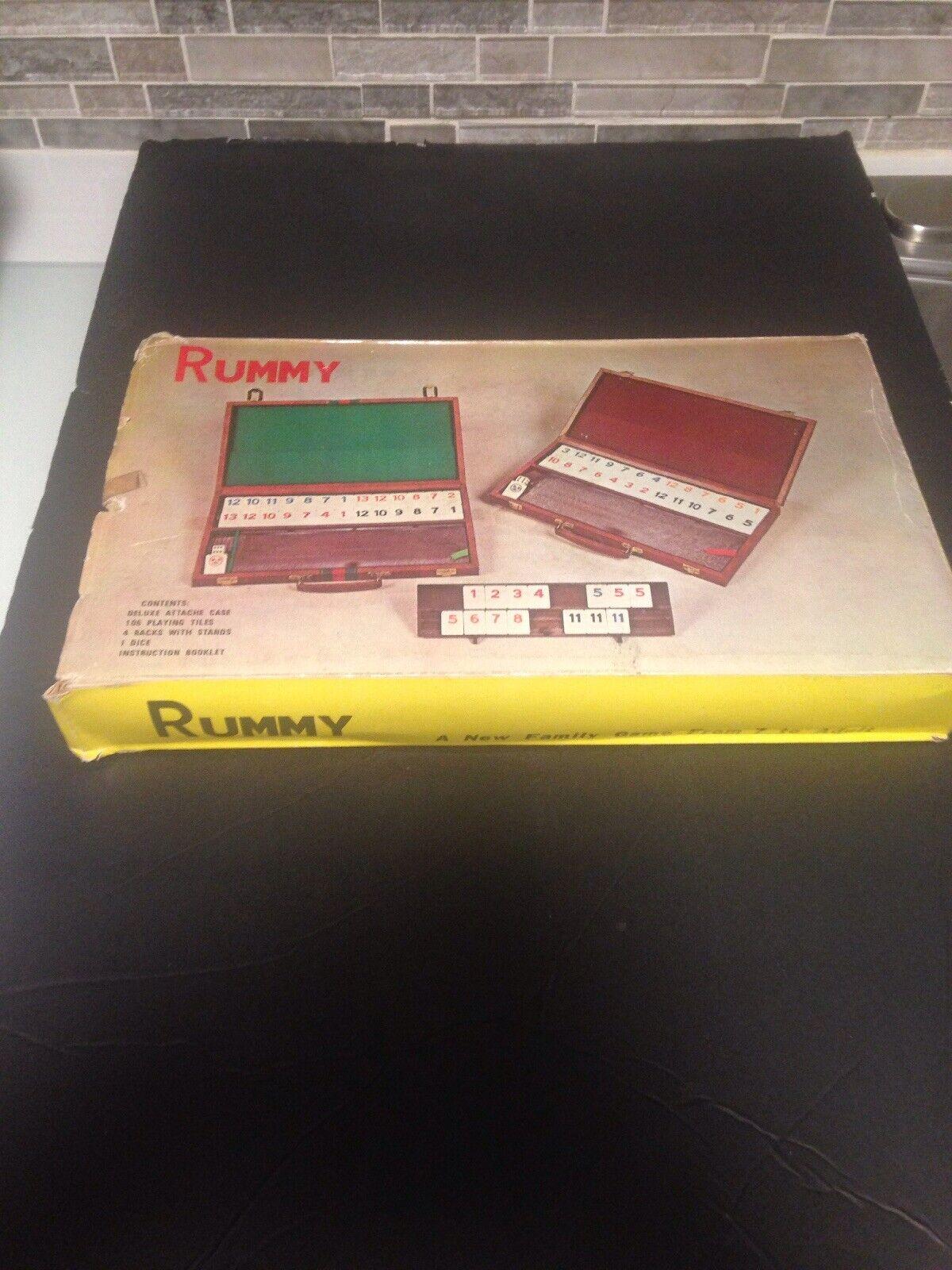 Juego de colección completa Rummy Azulejo Excelente Estado