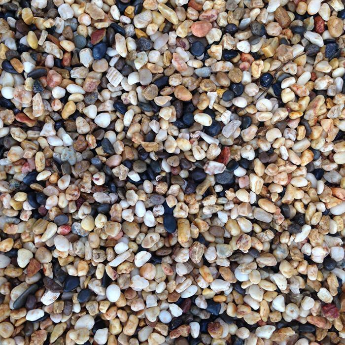 Pea Shingle Ghiaia Sabbia Acquario Acquario  Laghetto substrato di entità geografiche  4 misure