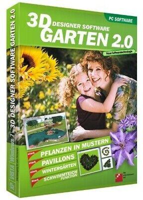 3D Designersoftware Garten 2.0 PC | eBay