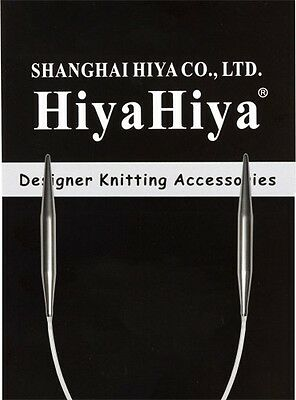 "HiyaHiya 9"" Stainless Steel Circular Knitting Needles"
