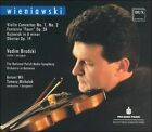 Wieniawski: Violin Concertos (CD, May-2003, Dux Records)