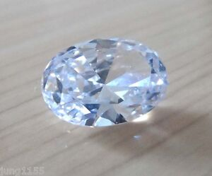 19-16CT-AAA-Natural-White-Zircon-Gem-Oval-Faceted-Cut-13x18mm-VVS-Loose-Gemstone