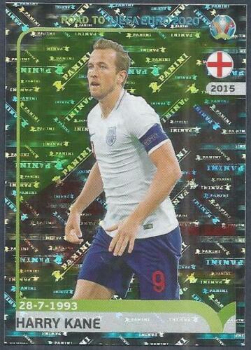 PANINI ROAD TO UEFA EURO 2020-#082-ENGLAND-HARRY KANE-SILVER FOIL