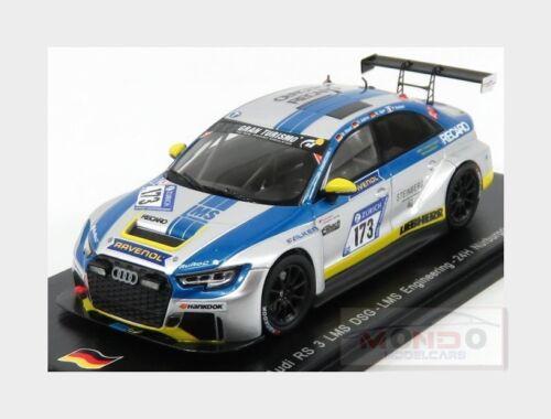 Audi A3 Rs3 Lms Dsg Engineering #173 Nurburgring 2017 U.Andree SPARK 1:43 SG305