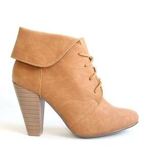 Stiefeletten-Braun-38-Damen-Schuhe-Halbschuhe-Boots-Pumps-High-Heels-9639A