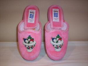 vendita online aliexpress qualità affidabile Dettagli su Ciabatte pantofole chiuse Penelope bimba bambina invernali da  casa n 29 31 32 33