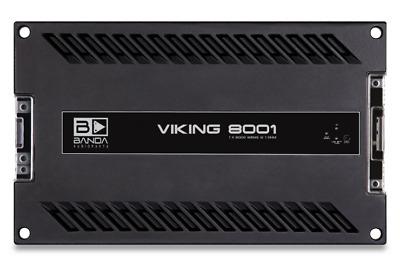 Amplifier Banda Viking 8000w Rms 1 Ohms