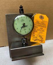Federal Ring Depth Gage Dial Indicator C21 0001 Recent Calibration Nice