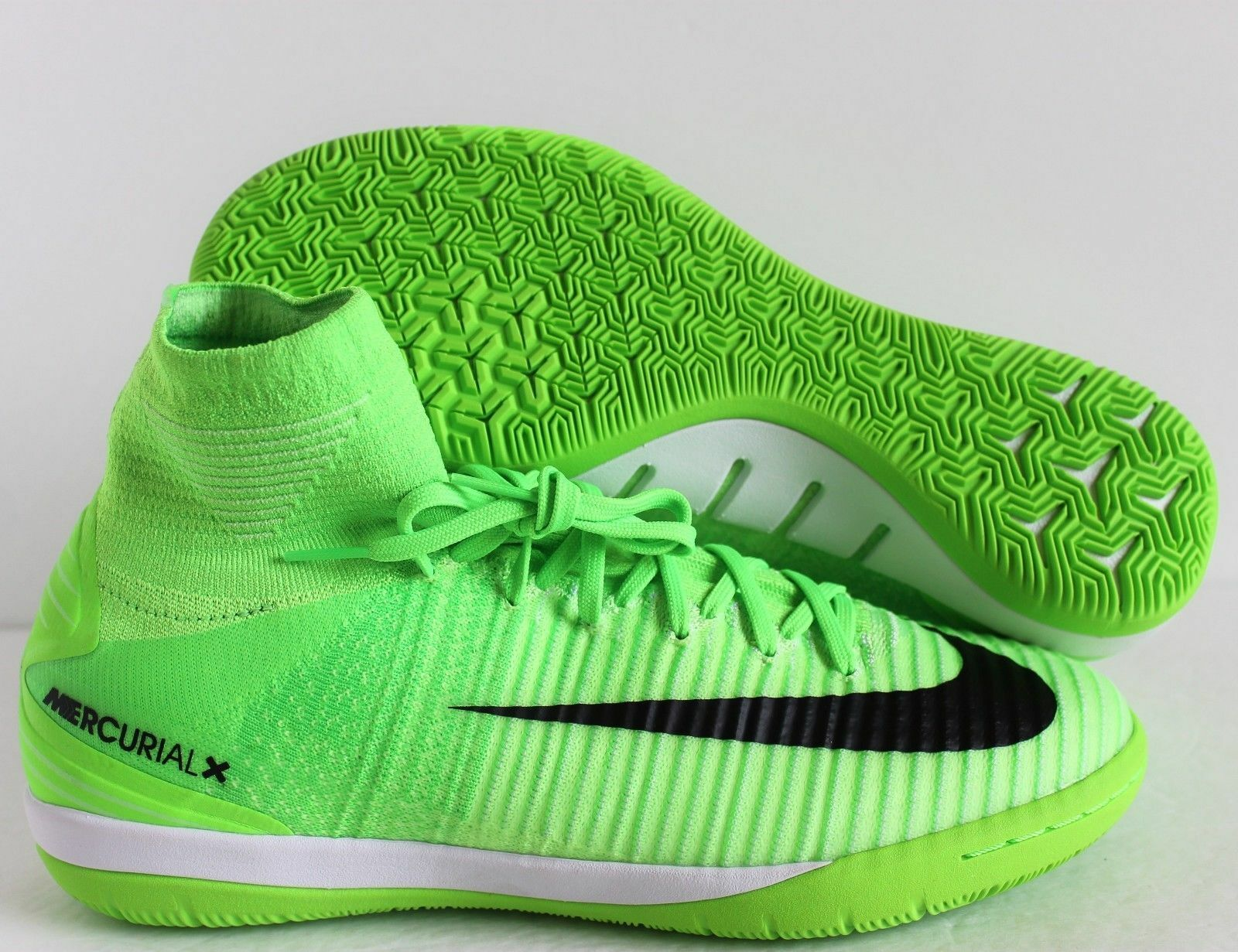 Nike MercurialX Proximo II 2 DF IC Indoor Soccer Shoes Electric Green