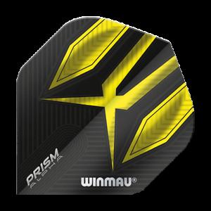 9 Winmau Prism Alpha Standard Flights Dartflights Yellow  3 Set = 9 Stück