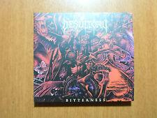 Desultory - Bitterness DIGIPACK CD Brazil Reissue 2015 w/ Bonus  / Remastered