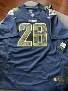 430f7457526 New Nike On Field NFL Los Angeles Chargers Melvin Gordon Jersey 2XL ...