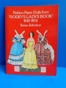 1977 REPRODUCTION OF GODEY'S LADY'S BOOK OF FASHION PAPER DOLLS- UNCUT