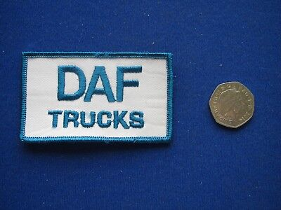 SCANIA Trucks Sew//Stick on  Embroidered Cloth Badge//Patch    1980s