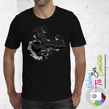 DUCATI ENGINE MOTOR S-XXXL T-SHIRT MONSTER HYPER BIKE RACING ITALY CORSE