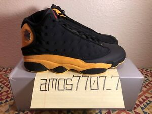 quality design 16982 73bba Details about Air Jordan 13 XIII Melo Class of 2002 Black Yellow Red 414571  035 Men Size 8 8.5