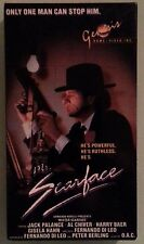 jack palance  MR SCARFACE al chiver   VHS VIDEOTAPE genesis home video