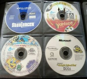PC-Game-CD-039-s-Lot-of-4-Starlancer-Yahtzee-Marine-Malice-Magic-School-Bus