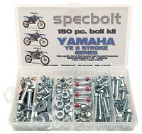 150pc Yamaha Yz Bolt Kit 80 85 125 250 Fits Fenders Motor Seat Chain Adjusters