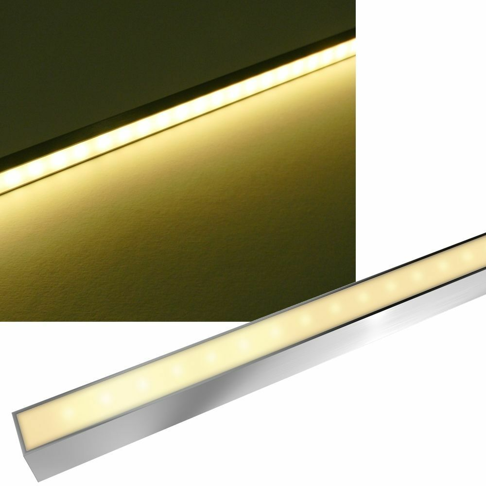 LED Licht-Leiste  Bomba Aqualine  blancoo Cálido,Acero Inox. IP68 Strip