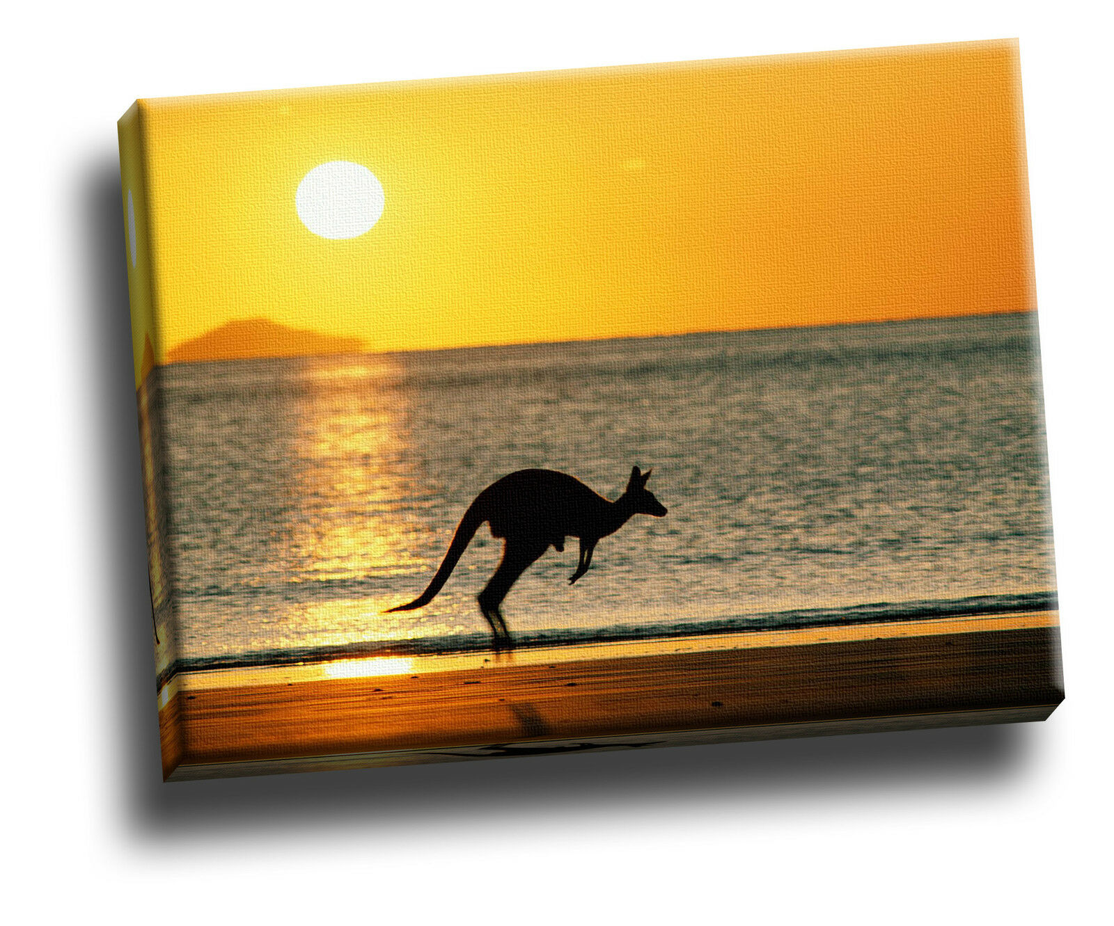 Taking Joey Home, Australia Giclee Canvas Picture Wall Art