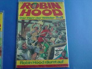 Robin-Hood-ComicHeft-Nr-95-Original-Bastei-Verlag-alt-selten-top