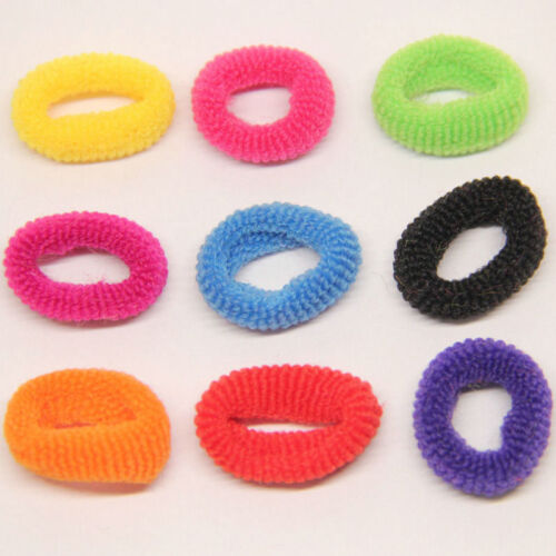 Elastic Rope Ring Hairband Fashion Women Girls Hair Band Ponytail Holder 100Pcs