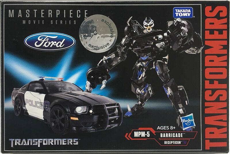 Hasbro Takara Toysrus Exclusives TF Movie Masterpiece Series MPM-5 Barricade.
