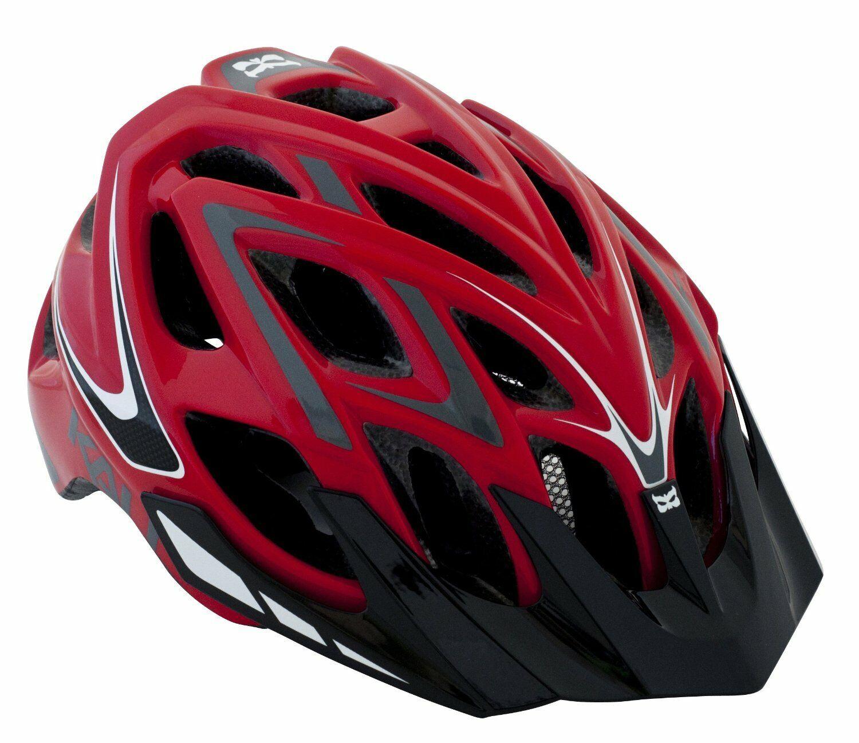 Kali Prossoectives Chakra Plus XC Helmet Wisdom rossogrigio