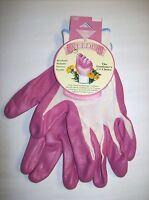 Pink weeders Garden Gloves (medium) By Garden Works