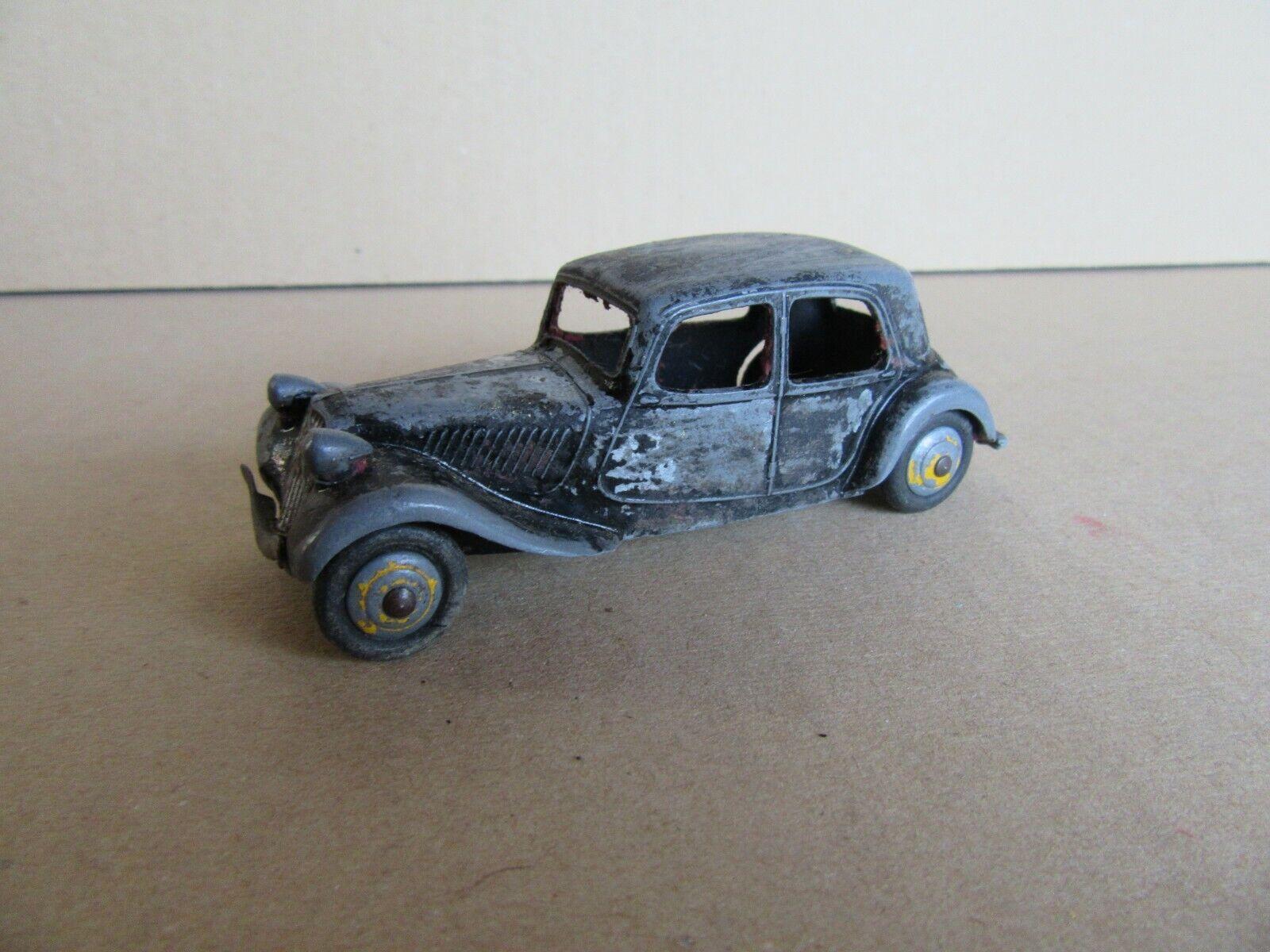 433J Vintage Dinky 24N Citroën 11 Bl Traction Type 1 black 1 43
