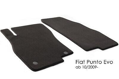 Fiat Punto Evo 5-trg 10.09-12.11 Typ 199 Fußmatten Original Qualität Velour Aut