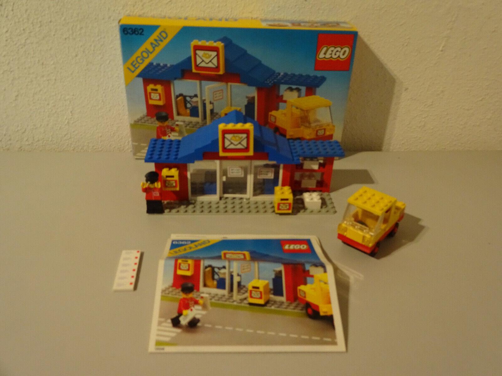 (TB) Legole 6362 ufficio postale posta con OVP & BA  100% COMPLETO USATO RARO  economico e di alta qualità