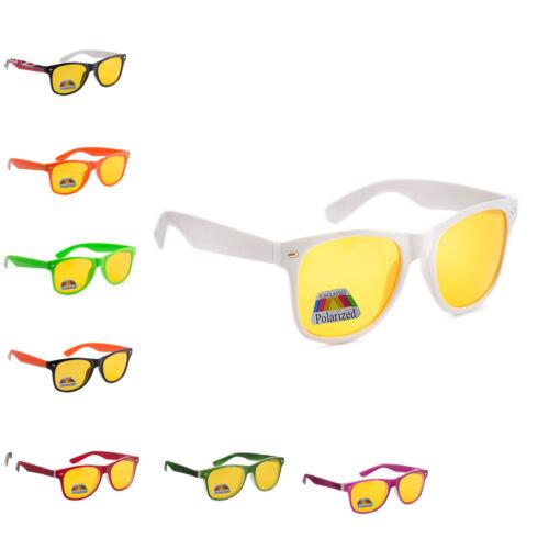 NUIT CONDUITE ANTI REFLETS Vision lunettes Prévention JAUNE CONDUCTEUR de soleil