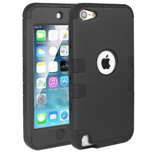 Hybrid-Hard-Protective-Armor-Case-ShockProof-Apple-iPod-Touch-5-6th-Generation