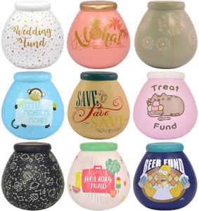 Pot-of-Dreams-Savings-Bank-Money-Box-Choice-of-Designs-Available-Cash-Save-Coins