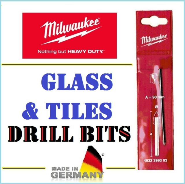 Gray Milwaukee 4002395360109/ Glass and Tile Drill Bit