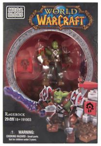 RAGEROCK World of Warcraft new Mega Bloks 91003