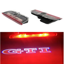 LED Door Lights Laser Projectors GTI Logo HD For VW GOLF MK5 MK6 MK7 2004-2016
